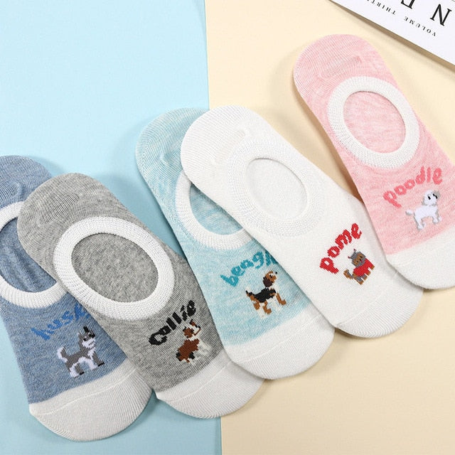 Cute animal women socks