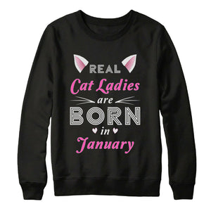 Real cat ladies are born in January