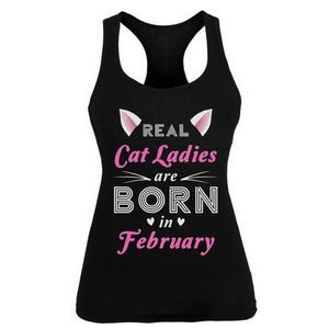 Real Cat Ladies are born in February
