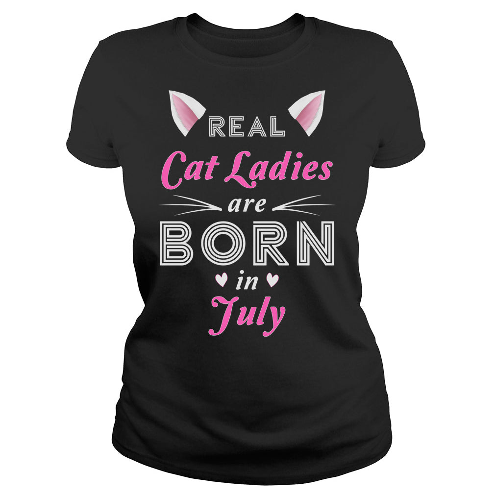 Real Cat Ladies are born in July