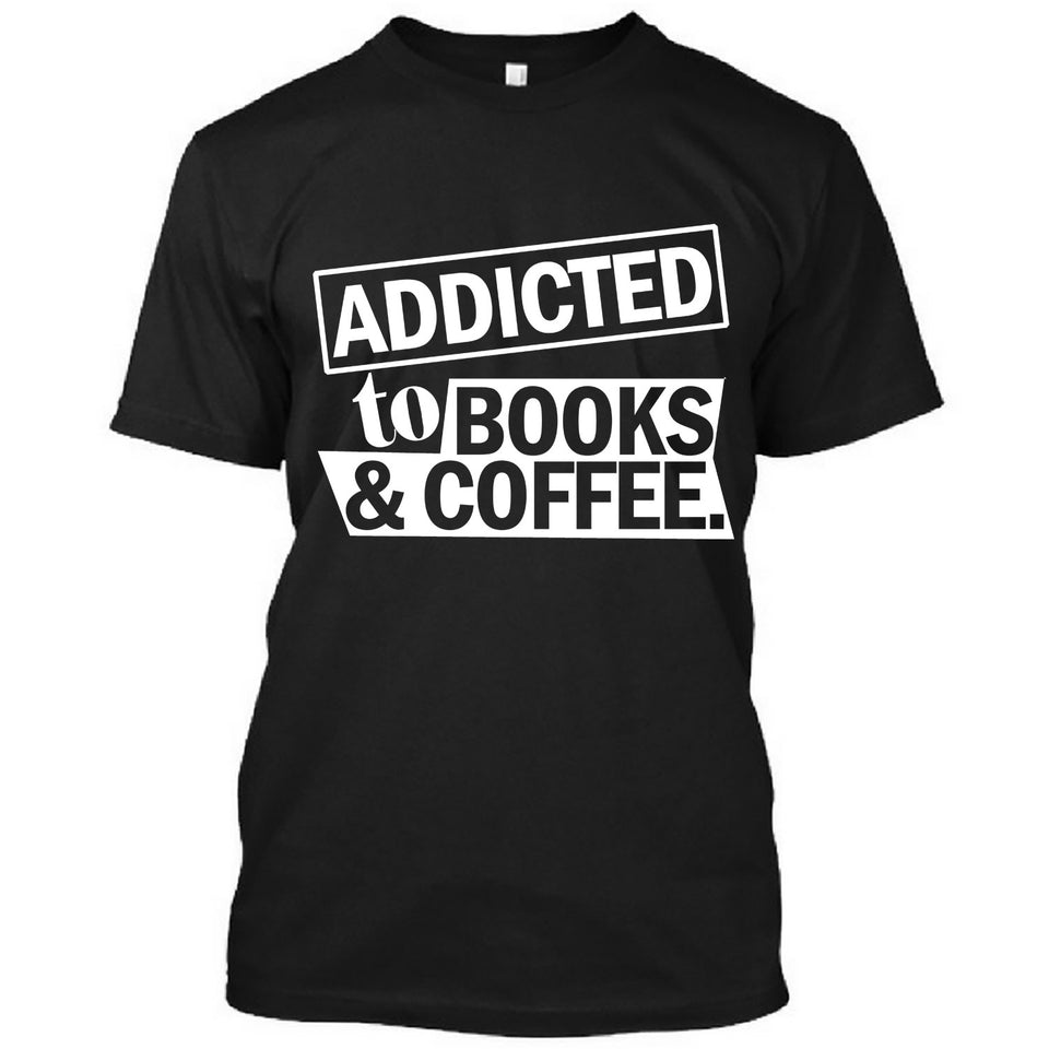 Addicted to books and coffee
