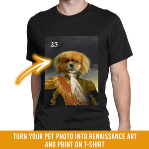 Renaissance historical M-23 male pet portrait