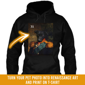 Renaissance historical M-31 male pet portrait