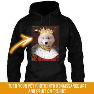 Renaissance historical M-36 male pet portrait