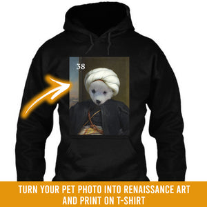 Renaissance historical M-38 male pet portrait
