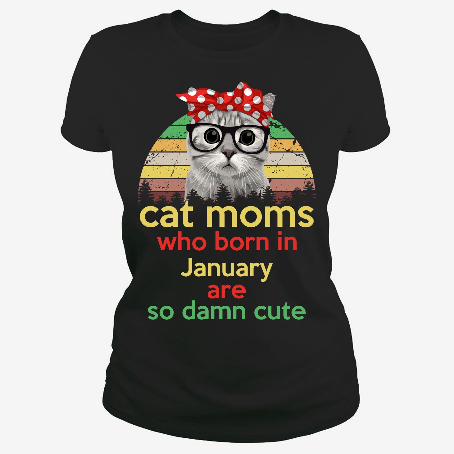 Cat moms who born in January