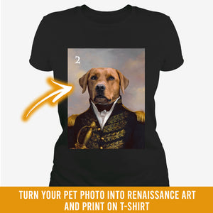 Renaissance historical M-02 male pet portrait