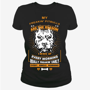 My Pitbulls are the reson