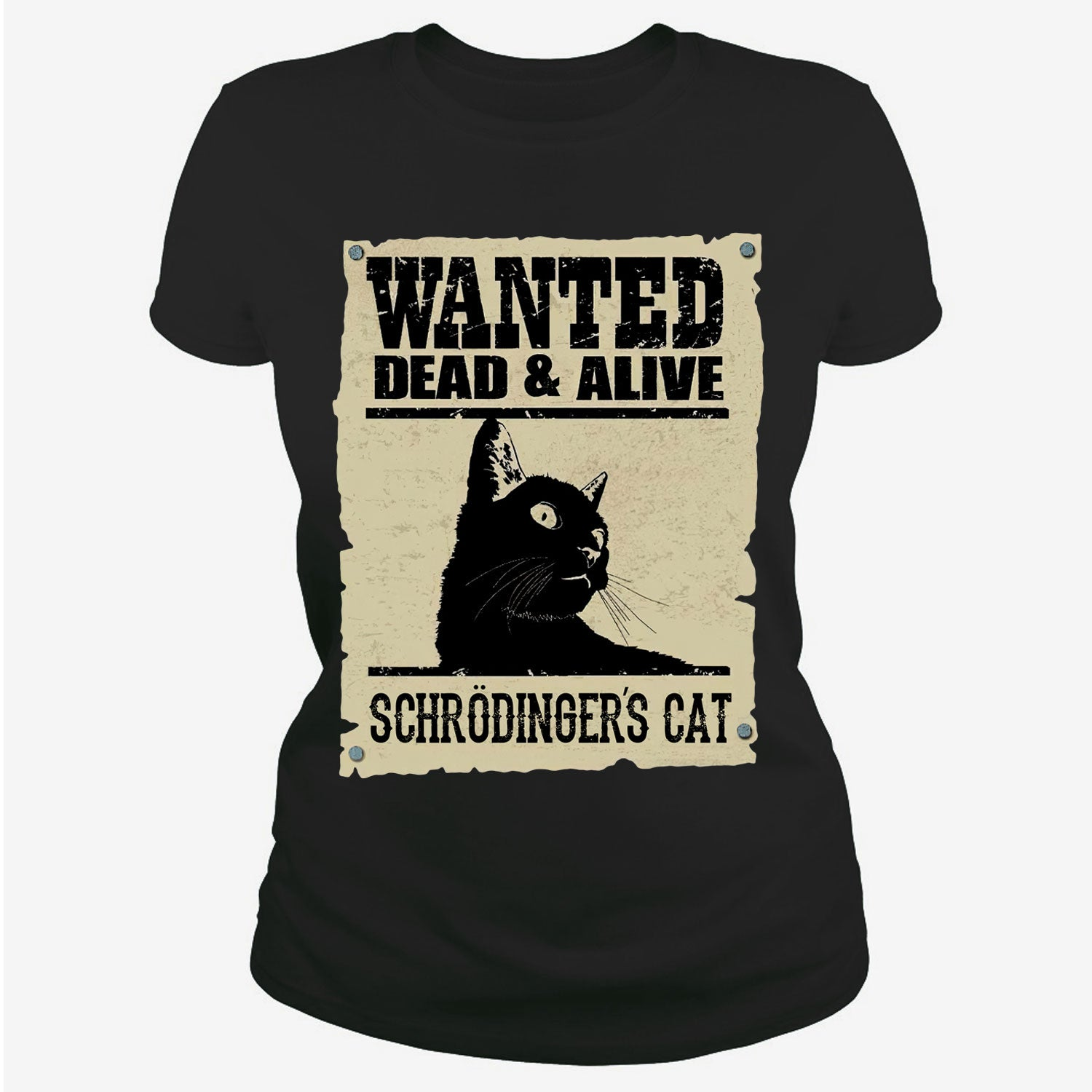 Wanted Dead & Alive Schrodinger's Cat