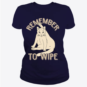 Cat, Remember To Wipe