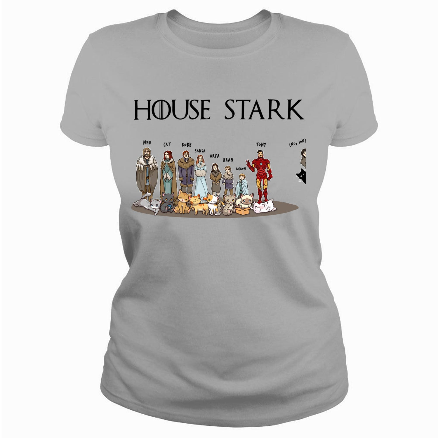 House Stark and their cats