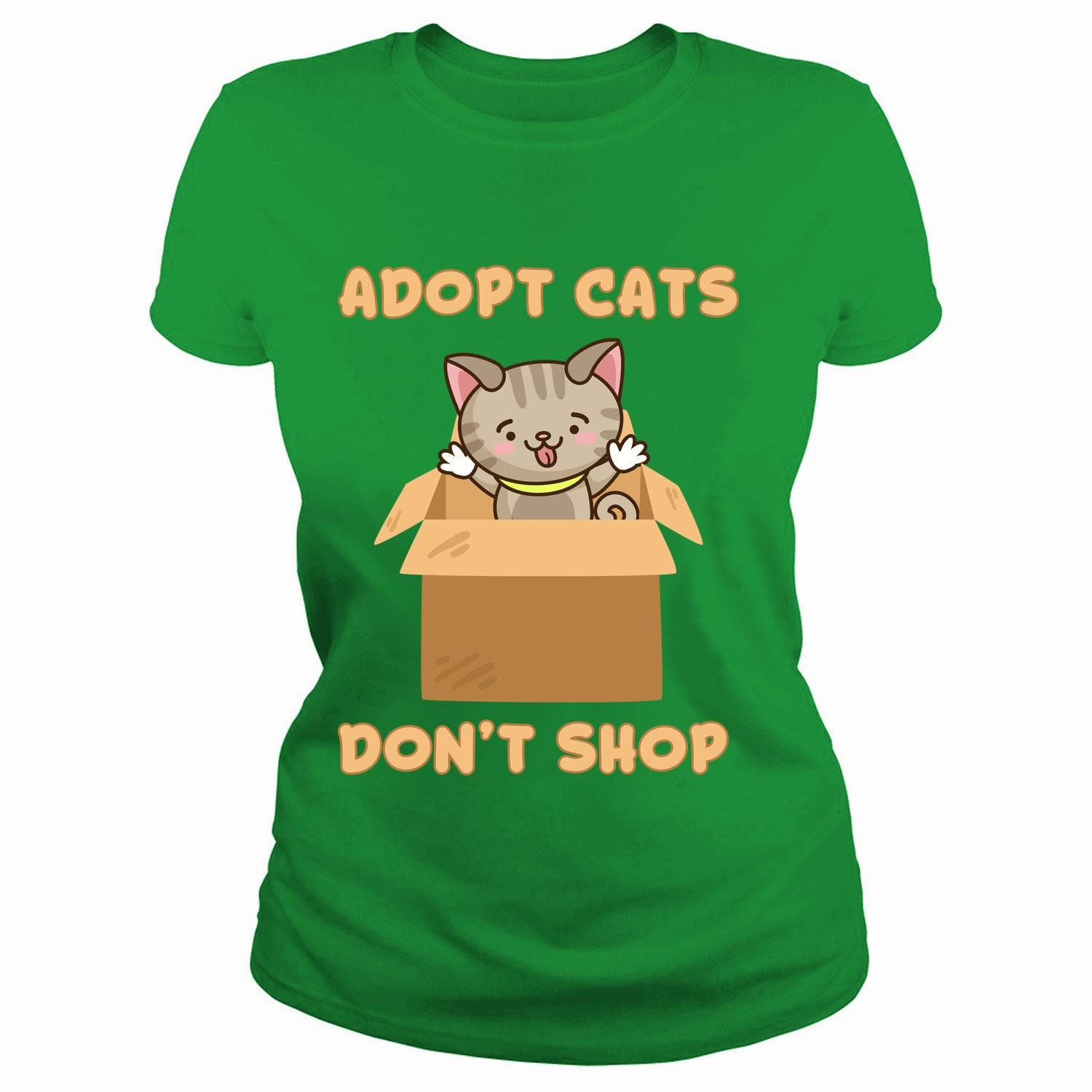 Adopt cats don't shop