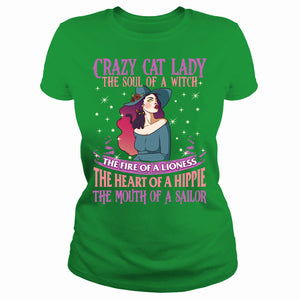 Crazy Cat Lady the soul of a witch