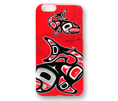 Oscardo iPhone 6 and 6S Hard Shell Case - Salmon Licensed Design by Jamie Sterritt