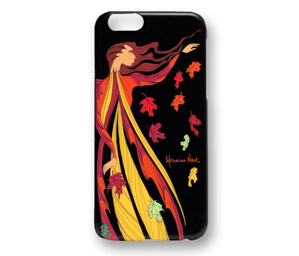Oscardo iPhone 6 and 6S Hard Shell Case - Leaf Dancer Licensed Design by Maxine Noel