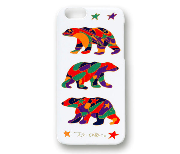 Oscardo iPhone 6 and 6S Hard Shell Case - Alpha Bear Licensed Design by Dawn Oman