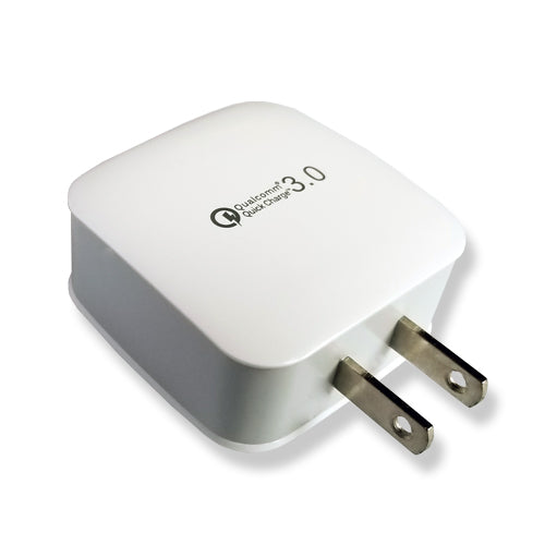 Quick Charge 3.0 (QC3.0) - 1-Port USB Travel Wall Charger