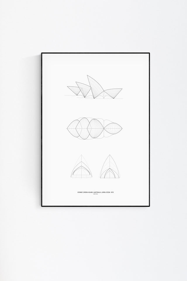 Sydney Opera House Architecture Print by Studio Romuu - Feature