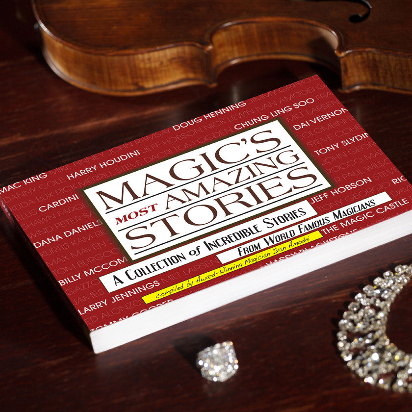 MAGIC'S MOST AMAZING STORIES - THE BOOK