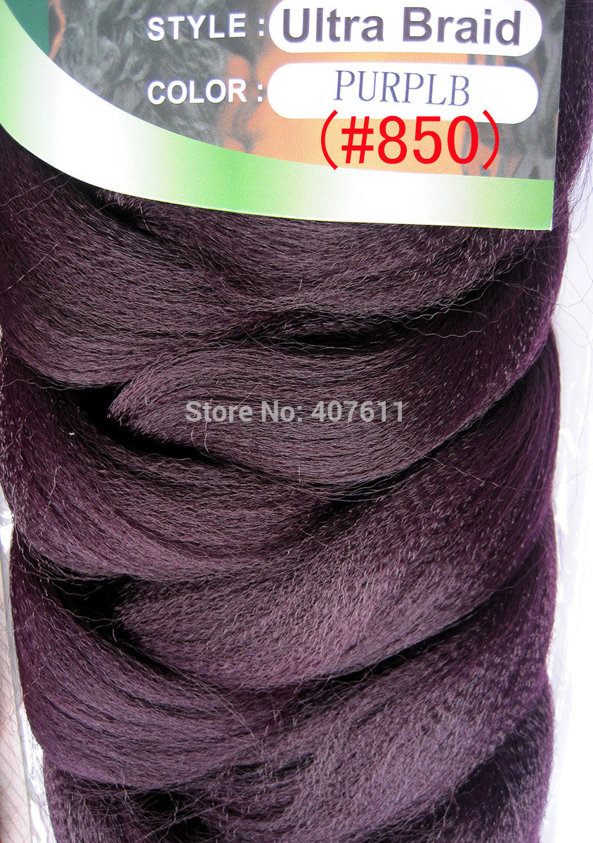 Xpression Braid Hair Extension Color6 Braid Ultra Braid Color 8 Afro