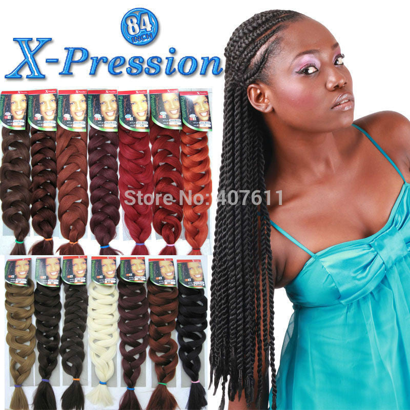 New Arrival Exprssion Braiding Hair Super Jumbo Braid Afro Hair