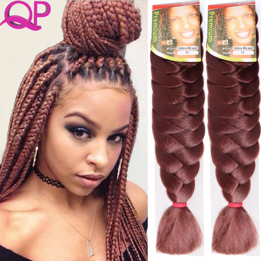 Wholesale 1 Pcs Xpressions Kanekalon Braiding Hair28 Inch Box