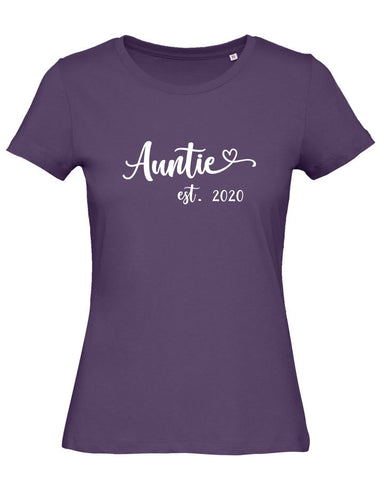Auntie Est Personalised T Shirt