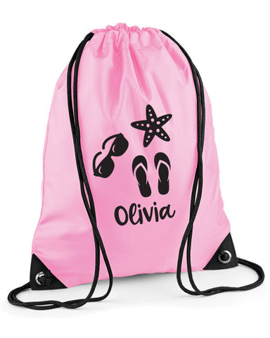 Kids' Personalised Beach Bag
