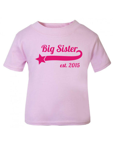 Big Sister Established Girls' T Shirt