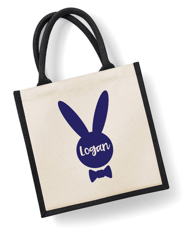 Personalised Easter Bunny Boys' Bag