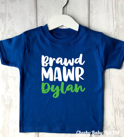 Personalised Welsh Big Brother T-Shirt