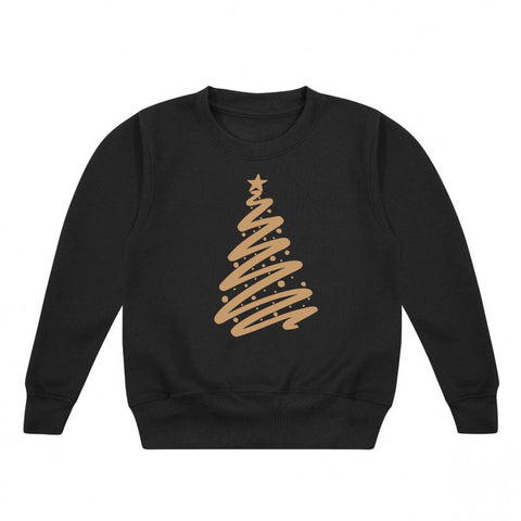 Christmas Tree Kids' Sweatshirt