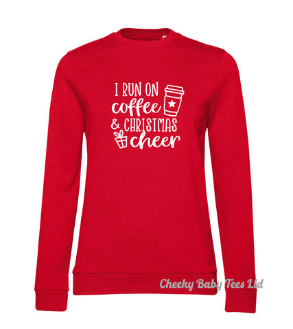 Coffee & Christmas Cheer Ladies' Sweatshirt
