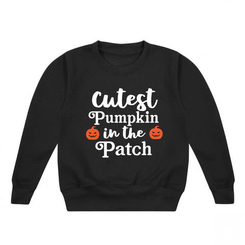 Cutest Pumpkin Halloween Kids' Sweatshirt