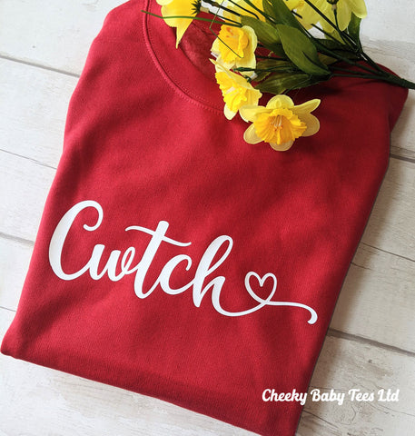 Cwtch Welsh Ladies' Sweatshirt