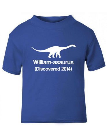 Dinosaur Discovered Baby T-Shirt