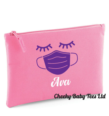 Personalised Mask Pouch Eyelashes