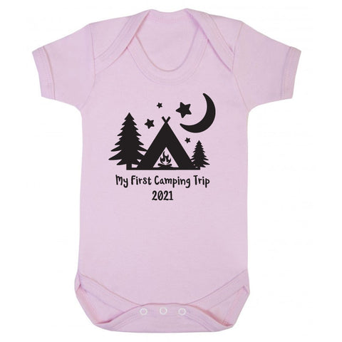 My First Camping Trip Babygrow