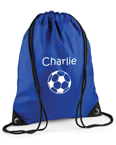 Personalised Football Bag