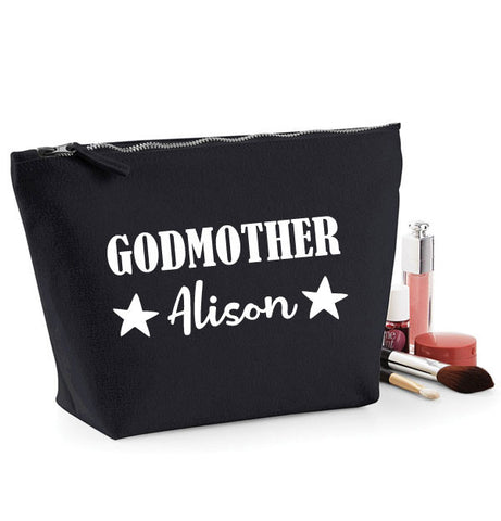 Godmother Personalised Make Up Bag