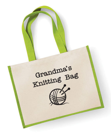 Grandma's Knitting Bag
