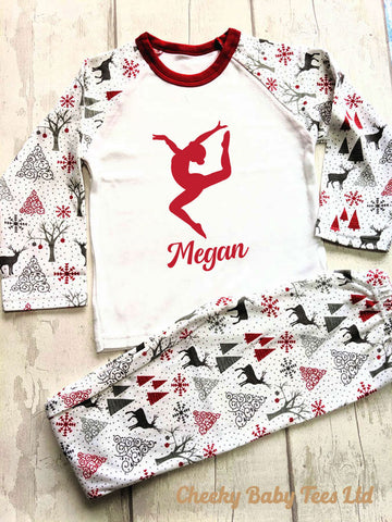 Gymnastics Christmas Pyjamas