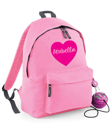 Personalised Heart PE Bag