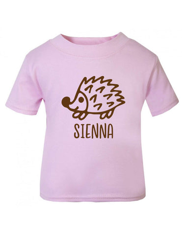 Personalised Hedgehog T-Shirt