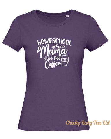Home School Mama Ladies' T Shirt