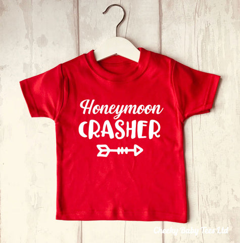 Honeymoon Crasher Baby T Shirt