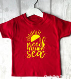 I Need Vitamin Sea Kids' T Shirt