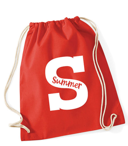 Personalised Initial PE Gym Bag
