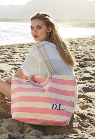 Personalised Initials Beach Bag