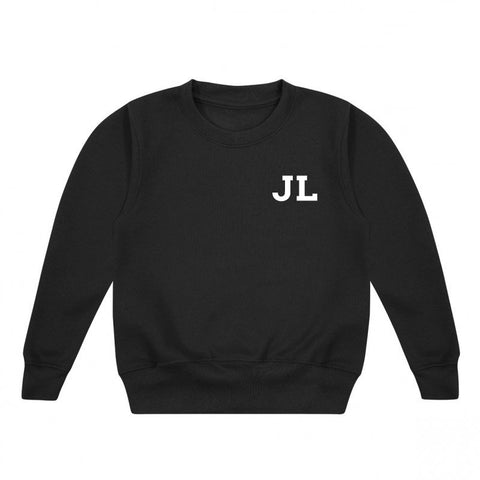 Initials Personalised Kids' Sweatshirt
